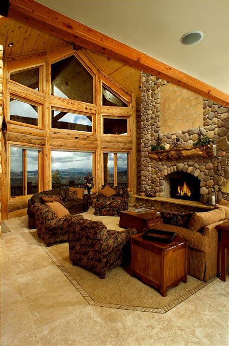home interiors photos log home interiors yellowstone log homes