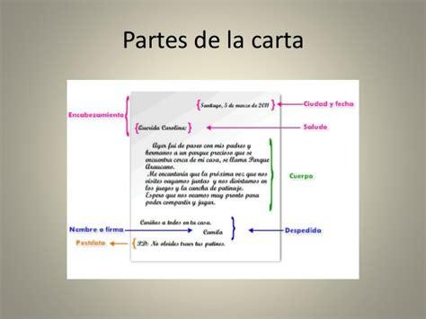 carta formal e informal y sus elementos la carta y sus elementos
