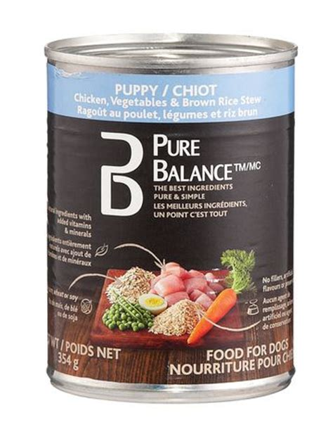 walmart balance food balance puppy chicken vegetables brown rice food walmart ca
