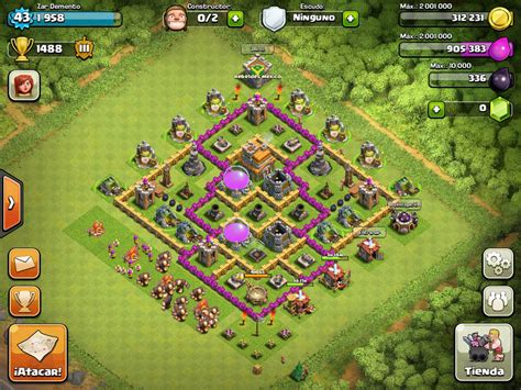 layout editor coc base design town hall level 7 3 defensive on ultimate