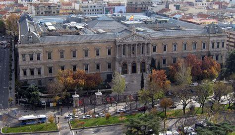 libreria salamanca madrid palacio de biblioteca y museos nacionales wikipedia la