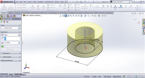 solidworks tutorial nut tutorial modeling capstan nut in solidworks grabcad
