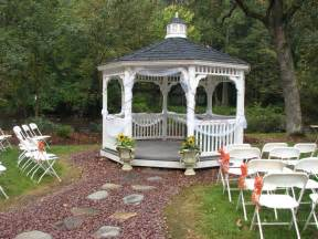 Backyard Wedding Gazebo Gazebo Photos Bello Giorno Catering Nj