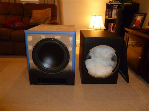 epik  diy ported subwoofer page  home theater