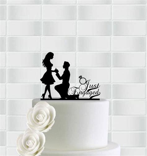 Engagement Decor by Engagement Cake Topper Engagement Decorations
