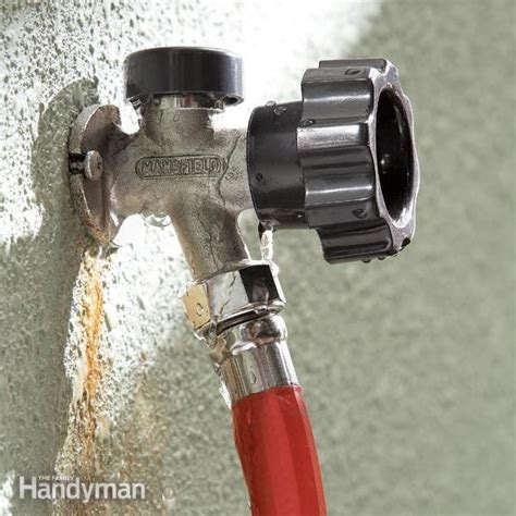 Outside Water Faucet Freeze Proof by Fix A Leaking Proof Faucet To Fix The Family