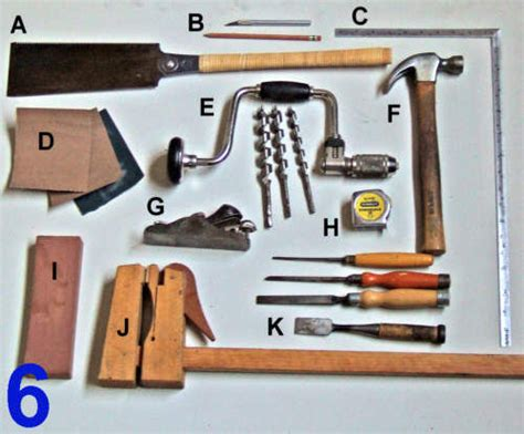 tools used in woodwork woodworking wood projects without using nails