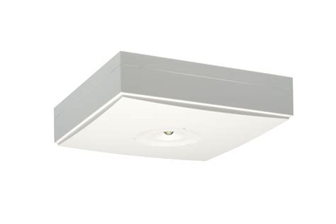 emergency light mounting height zonespot ii midbay surface mounted emergency lights