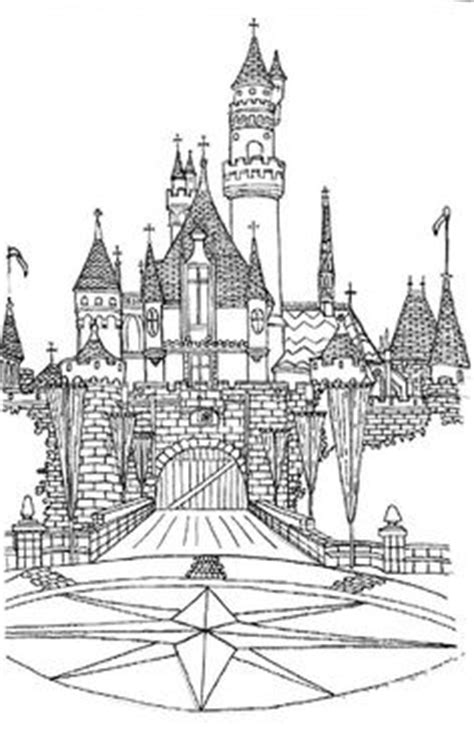 castles disney castles and coloring pages on pinterest adult coloring pages free to print disney castle free