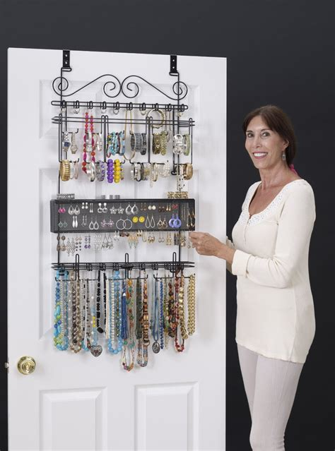jewelry organizer jewelry hanging organizer clear the clutter organize