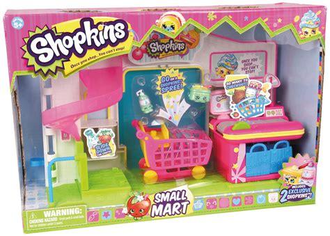 Set By Shop shopkins supermarket playset toys
