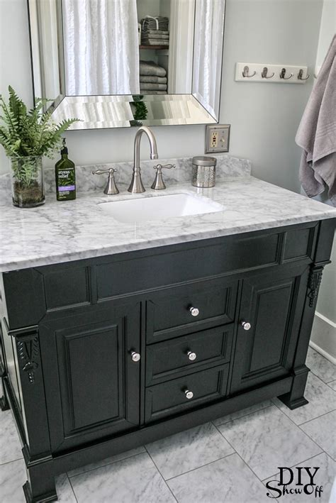 Bathroom Vanity Remodel by Huntshire Bathroom Vanity Diy Showoff Website Impressive