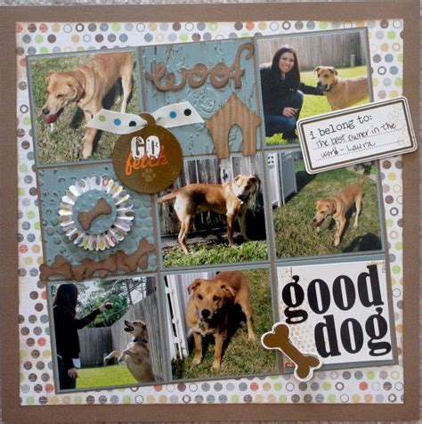 scrapbook layout ideas for pets 1278 best dog scrapbooking images on pinterest