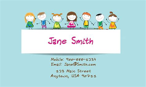 business cards for teachers templates free tutor business card design 1101141