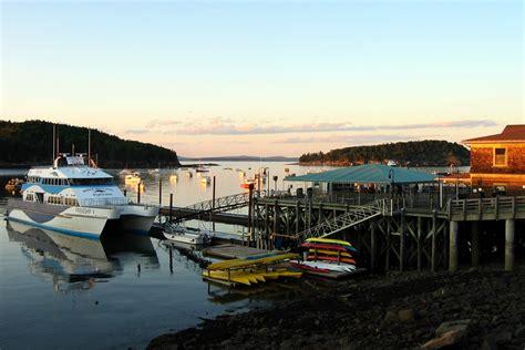 bar harbor maine cruise port cruiseline