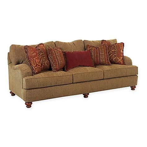 Klaussner 174 Walker Sofa And Loveseat Collection In Toffee Klaussner Sofa Bed