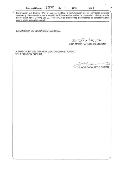 decreto 172 2277 2014jpgw584 decreto 1092 del 26 de mayo de 2015 salarios educadores