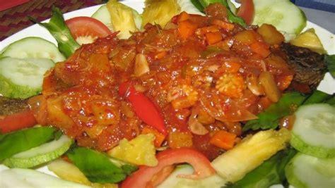 Bumbu Rujak Praktis resep sederhana mudah dan praktis membuat masakan ikan