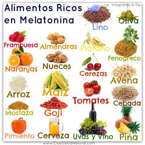 alimentos serotonina la melatonina su uso y alimentos que la contienen club