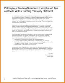 Teaching Philosophy Template by 8 Writing A Teaching Philosophy Statement Exles