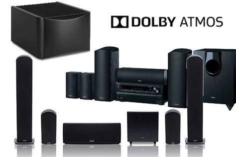 home theater surround sound goes 3d with these dolby atmos