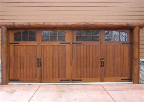 3 door garage three kinds of wooden garage doors gosiadesign com