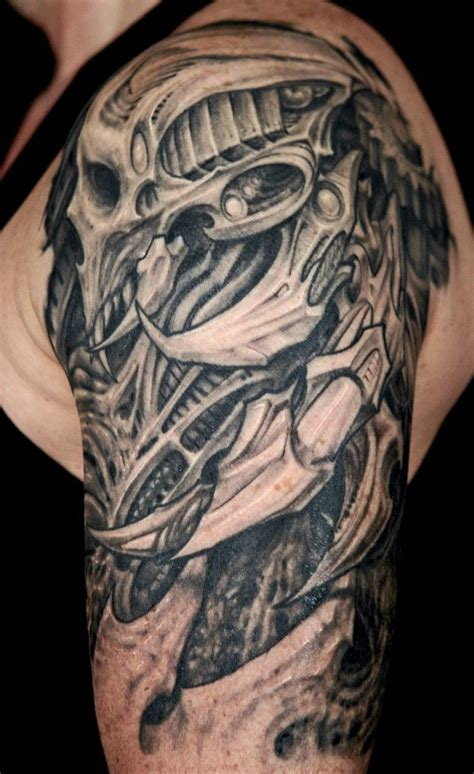 biomech tattoo designs 25 amazing biomechanical tattoos design skulls