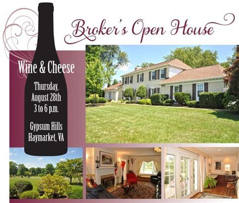 real estate agent open house real estate agents in haymarket gainesville manassas va area you re invited to a