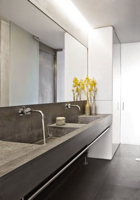 gorgeous bathrooms look from design blogs using did you concrete could look this it s gorgeous