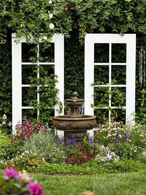 Trellis In The Garden 7 Ways To Upscale Upcycled Doors