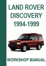 car repair manuals online pdf 1994 land rover defender electronic throttle control land rover discovery 1994 1999 workshop manual