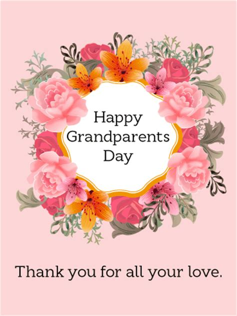 new year greetings for grandparents happy grandparents day greeting cards birthday