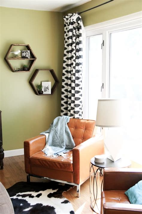 cowboy living room modern cowboy living room bright green door