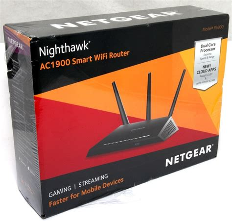 Smart Wifi Router Ac1900 by Netgear R6900 Nighthawk Ac1900 Smart Wifi Router Dual