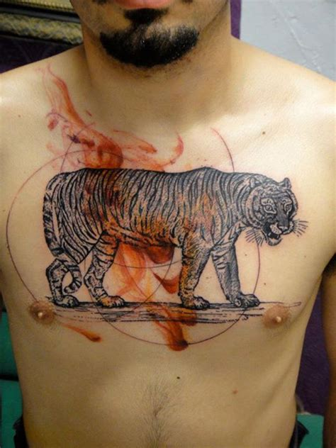 tattoo chest tiger image gallery japanese tiger chest tattoo