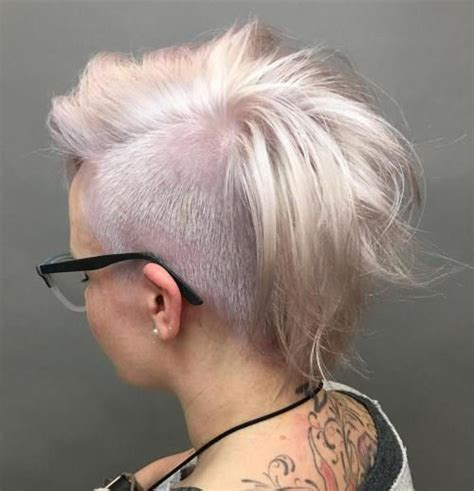 half shaved pixie haircut 25 best ideas about half shaved on pinterest half
