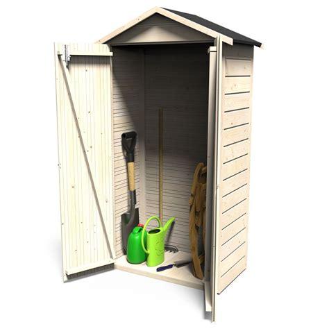 armoire de jardin bois arbae l105 5 h189 cm ep 12 mm
