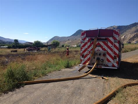 cigarette boat puts out fire in kamloops discarded cigarette starts kamloops grass fire infonews
