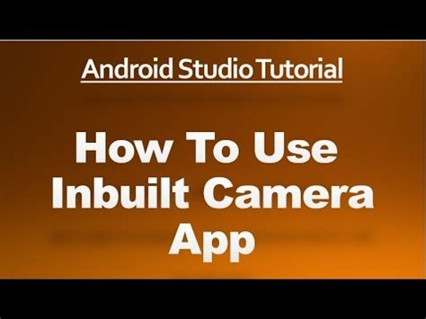 android studio hybrid app tutorial android studio tutorial 68 how to use the inbuilt