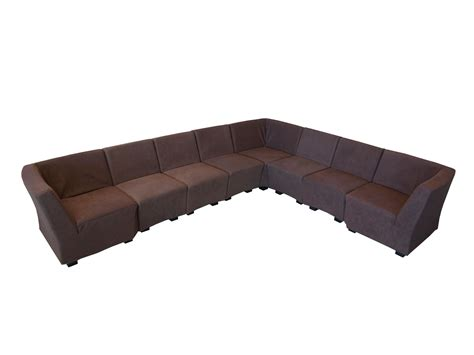 large brown corner sofa in lease inl 002404 square modular corner sofa large