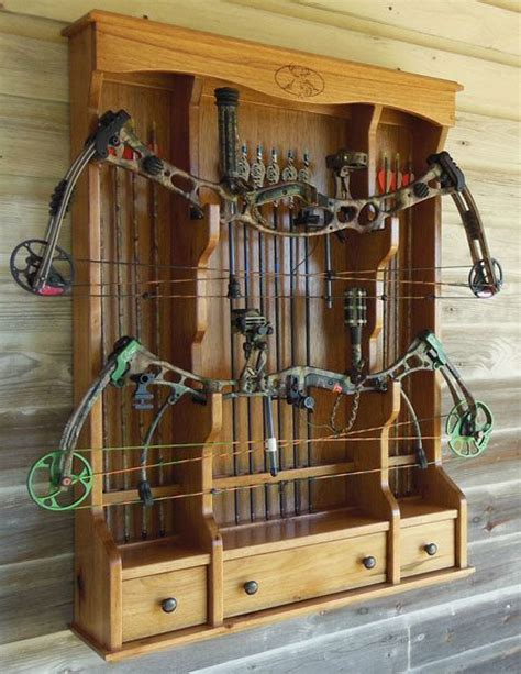 Bows On Kitchen Cabinets by How To Build A Archery Bow Rack Woodworking Projects Plans