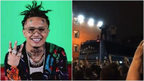 lil pump nottingham lil pump s show got evacuated so he performed the rest of