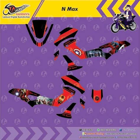 Striping Sticker Motor Decal Yamaha N Max Lapd 7 338 best digitive images on custom decals and total workouts