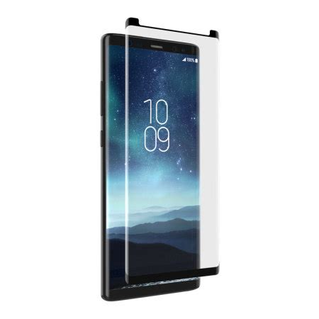 invisibleshield galaxy note 8 friendly glass screen protector