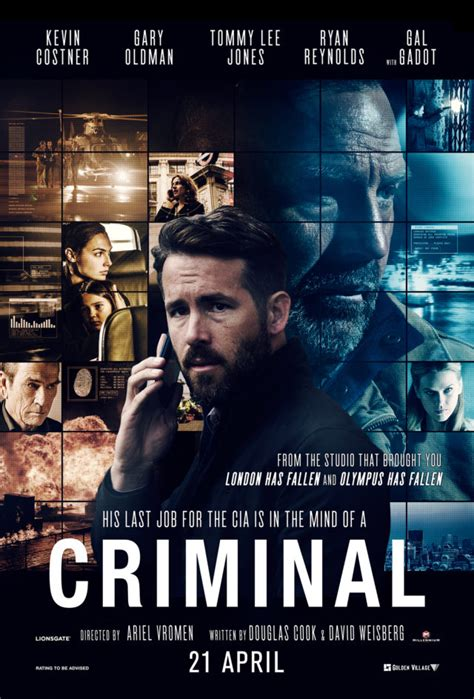 film rame februari 2016 criminal 2016 movie reviews and posters pinterest