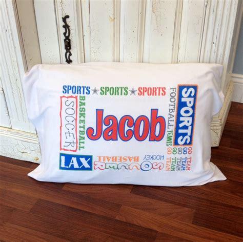 sports pillowcase