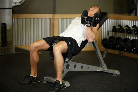 incline bench substitute alternate incline dumbbell curl how to do it video of