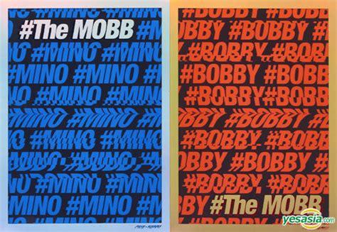 The Mobb Mino Version Poster yesasia mobb debut mini album the mobb mino bobby ver poster in cd mobb yg