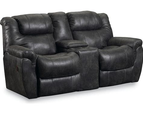 double recliners with console montgomery double reclining console loveseat