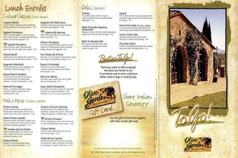the olive garden menu my adventures gardens olives and the o jays